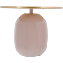 Kayoom Beistelltisch Art Deco 525 Altrosa / Gold