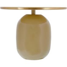Kayoom Beistelltisch Art Deco 525 Hellkhaki / Gold