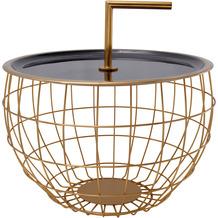 Kayoom Beistelltisch Art Deco 545 Schwarz