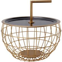 Kayoom Beistelltisch Art Deco 555 Schwarz