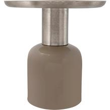 Kayoom Beistelltisch Art Deco 825 Taupe / Silber