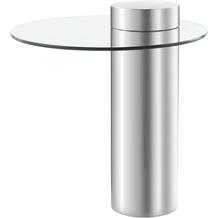 Kayoom Beistelltisch Ontario 125 Silber / Klar