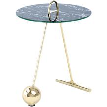 Kayoom Beistelltisch Pendulum 525 Gold / Schwarz