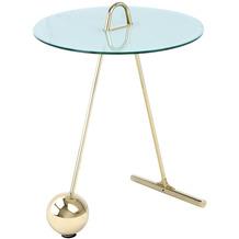 Kayoom Beistelltisch Pendulum 525 Gold / Weiß