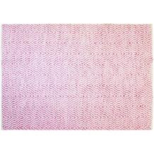 Kayoom Handwebteppich Aperitif 410 Pink 120 x 170 cm