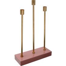 Kayoom Kerzenhalter Art Deco 325 Rosa / Gold
