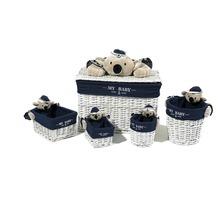 Kayoom Korb-Set Koala 200 Blau / Weiß