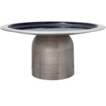 Kayoom Kuchenplatte Art Deco 325 Silber / Dunkelblau