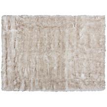 Kayoom Teppich Crown 110 Weiß / Braun 120 x 170 cm