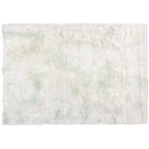Kayoom Teppich Crown 110 Weiß / Puderblau 120 x 170 cm