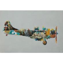 Kayoom Öl-Wandbild Flugzeug 60cm x 90cm