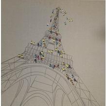 Kayoom Öl-Wandbild Trip To Paris 80cm x 80cm