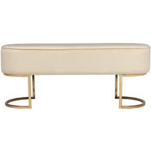 Kayoom Sitzbank Athea 225 Creme / Gold
