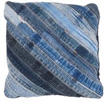 Kayoom Kissen Denim Pillow 210 Jeansblau 45 x 45 cm