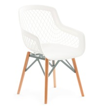 Kayoom Stuhl Pure Style Weiß