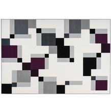 Kayoom Teppich Esperanto 225 Elfenbein / Violett 120 x 170 cm