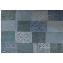 Kayoom Teppich Lyrical 210 Multi / Blau 120 x 170 cm