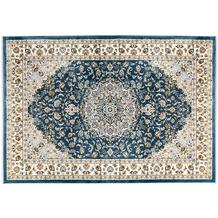 Kayoom Teppich Scotland - Edinburgh Blau 140 x 200 cm