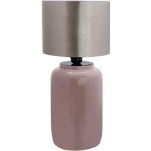 Kayoom Tischlampe Art Deco 625 Altrosa / Silber