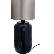 Kayoom Tischlampe Art Deco 625 Dunkelblau / Silber
