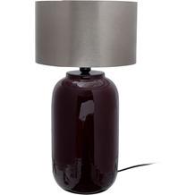 Kayoom Tischlampe Art Deco 725 Beere / Silber
