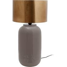 Kayoom Tischlampe Art Deco 725 Grau / Gold