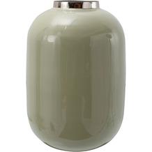 Kayoom Vase Art Deco 355 Mint / Silber