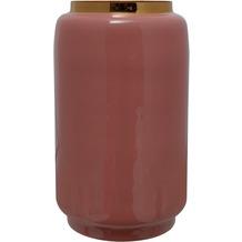 Kayoom Vase Art Deco 445 Rosa / Gold