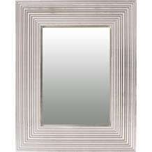 Kayoom Wandspiegel Harper 125 Weiß / Silber
