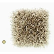 Kelii Hochflor-Teppich Elias 15 taupe Wunschmaß