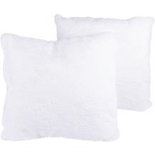 Kenda Sand Dekokissen Aimee 525 2er-Set Weiß