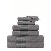 Kenda Sand Handtuch Florence 125 8er-Set Grau