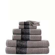 Kenda Sand Handtuch Medley 125 8er-Set Grau / Blau