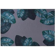 Kenda Sand Teppich Tropical 125 Schwarz / Grün 130 x 190 cm