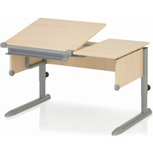 Kettler Schreibtisch COMFORT II Ahorn/Silber