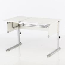 Kettler Schreibtisch COMFORT II Weiß/Silber