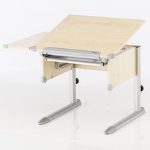 Kettler Schreibtisch LITTLE Ahorn/Silber