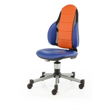Kettler Schreibtischstuhl BERRI FREE Blau/Orange Softex