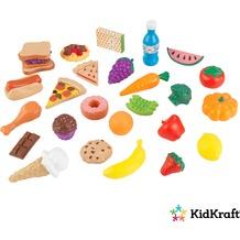 Kidkraft 30 Spiellebensmittel