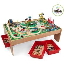 Kidkraft Eisenbahnset & Spielplatte mit Berg
