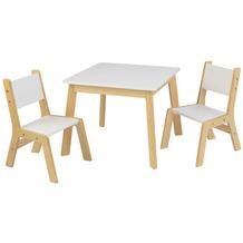 Kidkraft Moderner Tisch mit 2 Stühlen