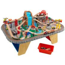 Kidkraft Wasserfall Eisenbahntisch & Spielset