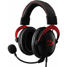 Kingston HyperX Cloud II, rot