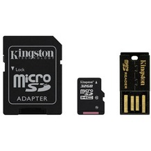 Kingston Mobility Kit microSDHC 32GB Class 10 (inkl USB + SD Adapter)