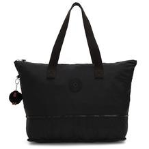 Kipling Basic Imagine Pack Faltbare Shopper Tasche 57 cm true black