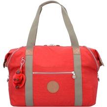 Kipling Basic Plus Art M Weekender Reisetasche 58 cm true red c