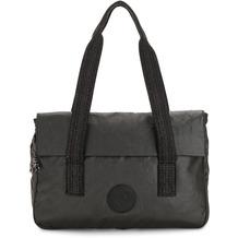 Kipling Basic Plus Perlani Laptoptasche 38 cm Laptopfach black metallic