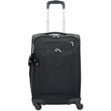 Kipling Basic Travel 4-Rollen Trolley 15 Youri Spin 55 cm true black