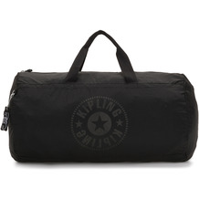 Kipling Packable Bags Onalo faltbare Weekender Reisetasche 46 cm black light