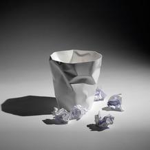 Klein und more Essey Papierkorb BIN BIN weiß